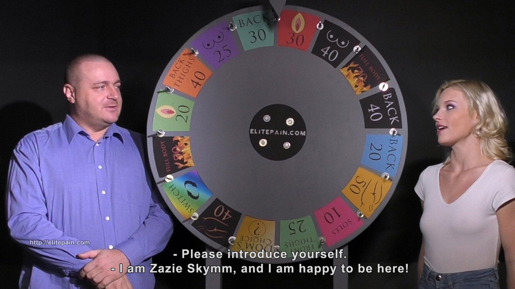 Wheel of Pain 29   Ariel, Lady Amanda, Zazie